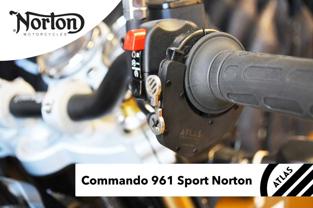 Norton Motorcycles - ATLAS Throttle Lock