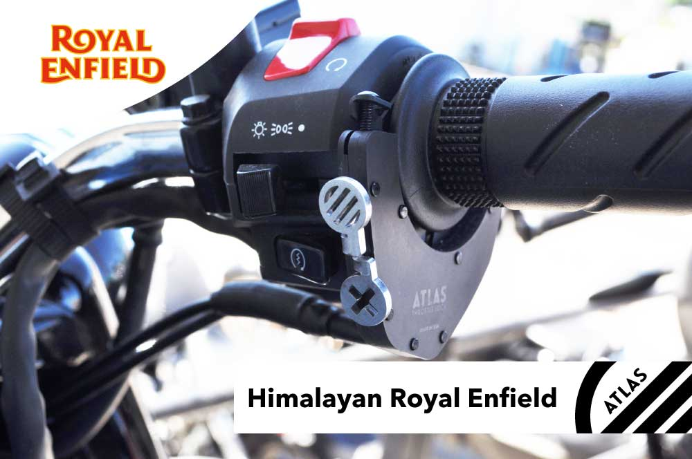 Royal Enfield Motorcycles - ATLAS Throttle Lock