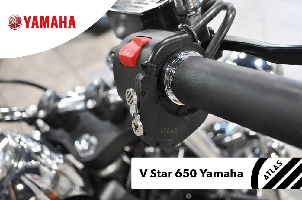 Yamaha Motorcycles - ATLAS Throttle Lock