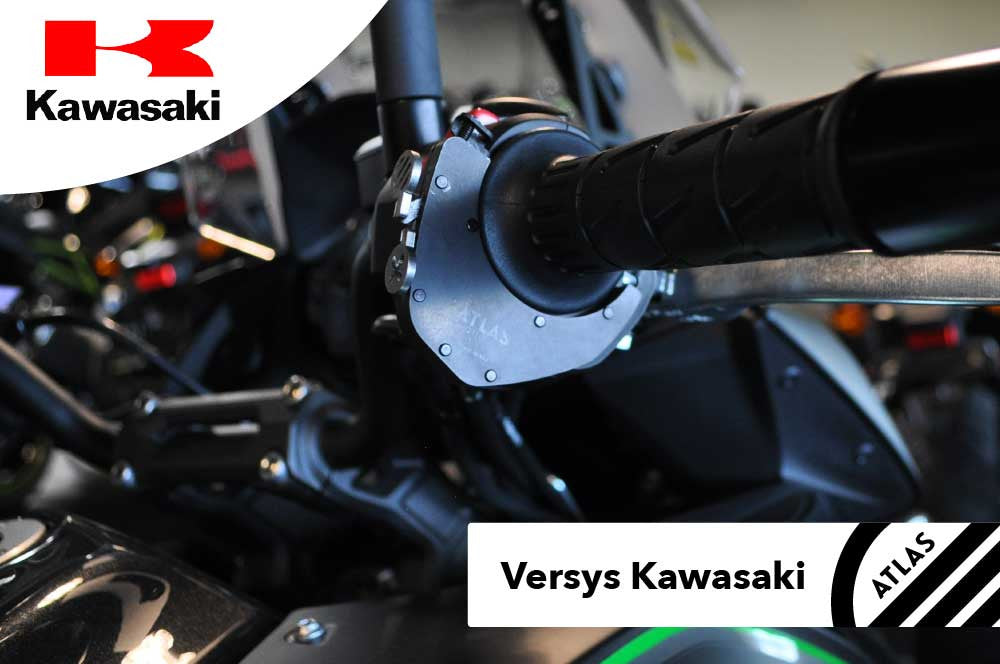 Kawasaki Motorcycles - ATLAS Throttle Lock