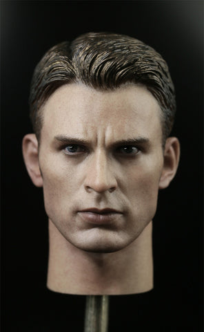 1/6 Loose Steve Custom Male Head Sculpt #MISC-H029