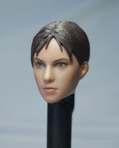1/6 Loose R. Evil Custom Female Head Sculpt #MISC-H019