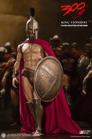 "STAR ACE 1/6 My Favourite Movie Series ""300 - King Leonidas"" Boxed Set #SA-0030"