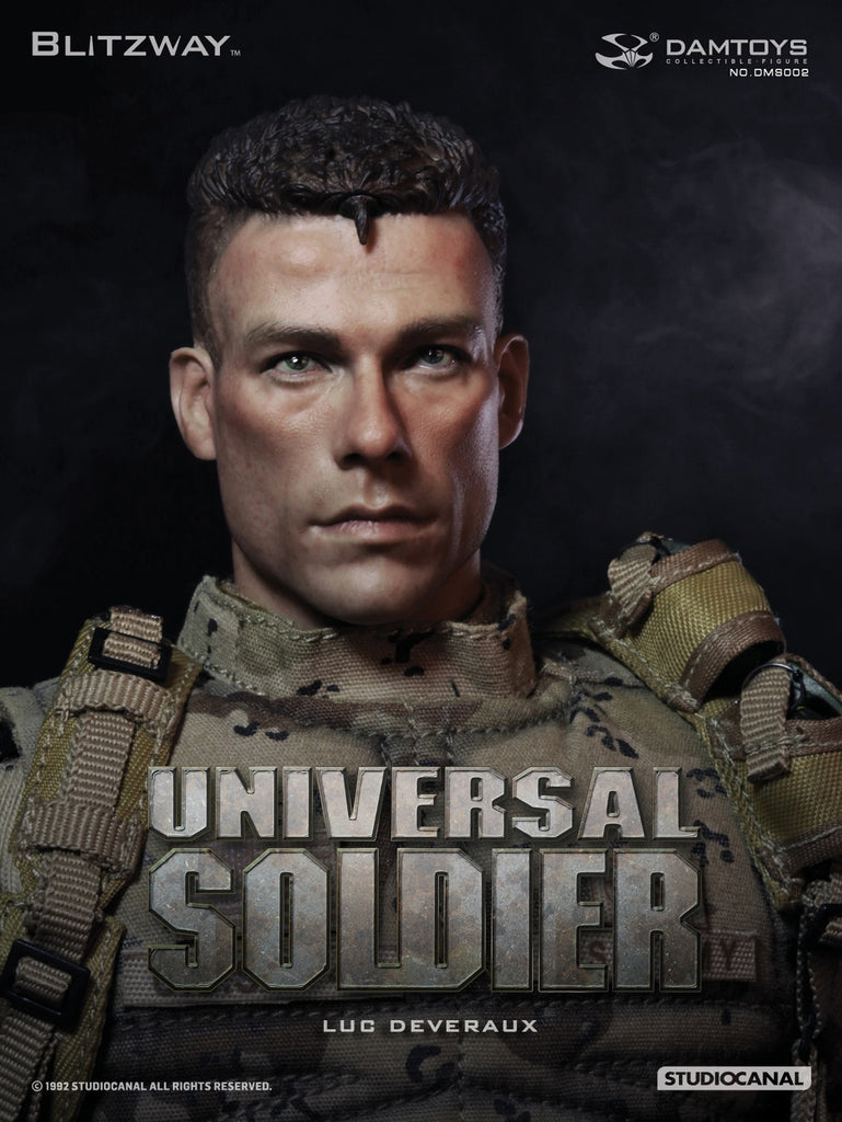"DAM TOYS x BLITZWAY 1/6 Action Figure ""Universal Soldier - Luc Deveraux"" Boxed Set #DMS-002"