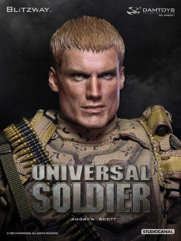 "DAM TOYS x BLITZWAY 1/6 Action Figure ""Universal Soldier - Andrew Scott"" Boxed Set #DMS-001"