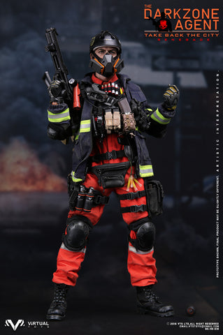 "VIRTUAL TOYS 1/6 Action Figure ""The Darkzone Agent - RENEGADE"" #VTS-VM018"