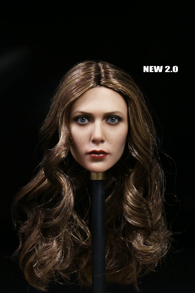 1/6 Loose Elisabeth Custom Female Head Sculpt #MISC-H017