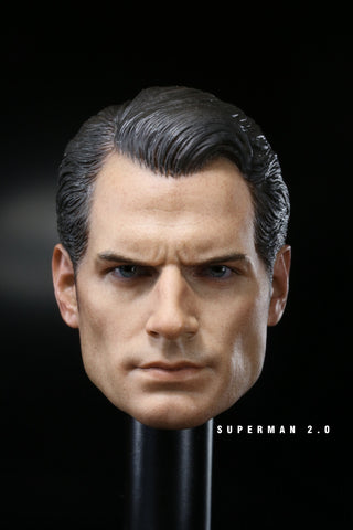 1/6 Loose Henry Custom Male Head Sculpt #MISC-H018