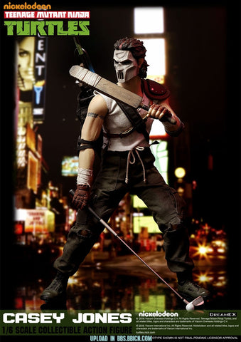 DreamEX 1/6 Teenage Mutant Ninja Turtle Casey Jones Boxed Set #DEX-JONES