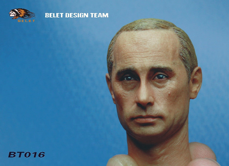 1/6 Loose Iron Curtain President Custom Head Sculpt #BLT-016