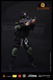 DAM Toys 1/6 ELITE SERIES Chinese People's Armed Police Force Anti-Terrorism Force Boxed Set #DAM-78017