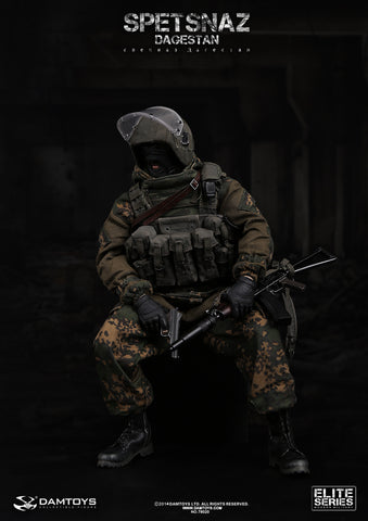 DAM Toys 1/6 ELITE SERIES SPETSNAZ In Dagestan Boxed Set #DAM-78020