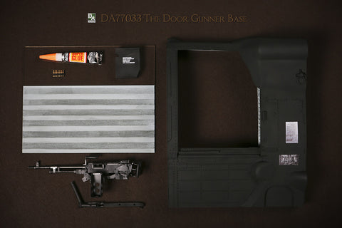DA Studio 1/6 The Door Gunner Base Upgrade Version Diorama Set Black Color #DA-77033D