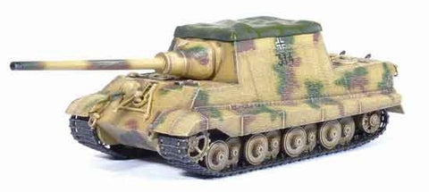 "Dragon Models 1/ 72nd Scale Armor JagdTiger (Porsche Production) w/Zimmerit w/""Rooftop Tarpaulin"", s.Pz.Jg.Abt.653, Alsace 1945 #60264"