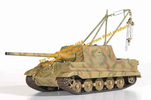 Dragon Models 1/ 72nd Scale Armor JagdTiger (Henschel Production) w/Zimmerit w/2 Metric Ton Lifting Crane, s.Pz.Jg.Abt.653, Germany 1945 #60267
