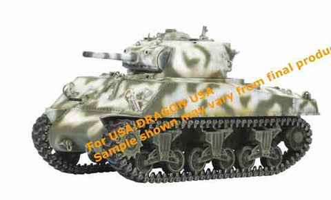 Dragon Models 1/ 72nd Scale Armor M4A3 105mm VVSS, 8th Tank Battalion, 4th Armored Division, France 1944 #60283