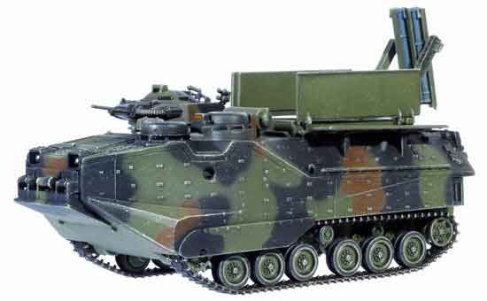 Dragon Models 1/ 72nd Scale Armor Series Modern AAV-7A1 Mk 154 MICLIC (Mine Clearance Line Charge) #60349