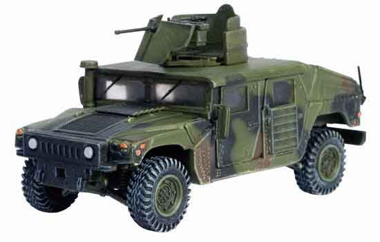 Dragon Models 1/ 72nd Scale Armor Series Modern HMMWV M1114 w/Armored Gun Turret, Task Force 2-5, Sadr City 2004 #60363