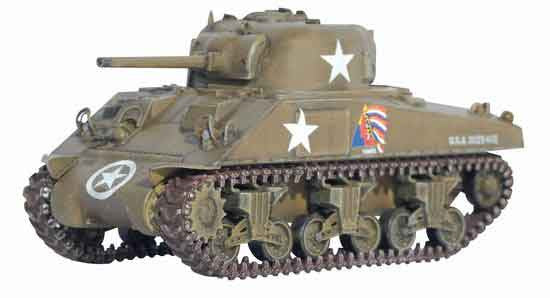 Dragon Models 1/ 72nd Scale Armor  M4 Normandy 37th Tank Battalion, 4th Armored Division, France 1944   #60370