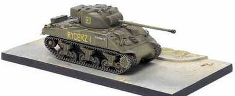 "Dragon Models 1/ 72nd Scale Armor  Sherman Ic Firefly 2nd Squadron, 1st Krechowiecki Lancers, 2nd Armored Brigade, 2nd ""Warsaw"" Armored Division, Italy 1945 w/Diorama Base  #60387"