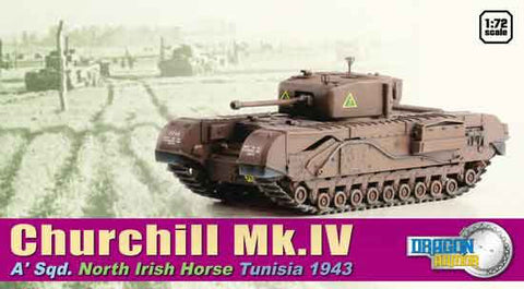 "Dragon Models 1/ 72nd Scale Armor 1:72 Churchill Mk.III ""King Force"", Alemein 1942 #60503"