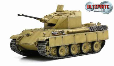 "Dragon Models 1/ 72nd Scale Armor Flakpanzer V ""Coelian"" Germany 1945 (Tan Version) #60590"