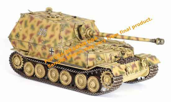 Dragon Models 1/35th Scale Armor Series German WWII Elefant Sd.Kfz.184, 2/s PzAbt.653 Poland 1944 #61005