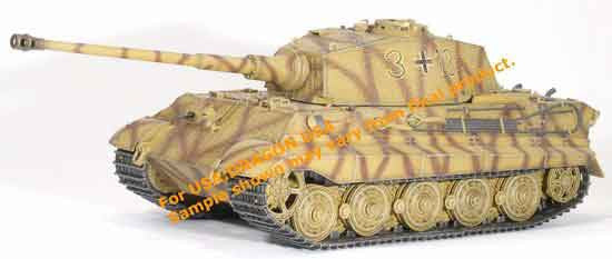 Dragon Models 1/35th Scale Armor Series German WWII King Tiger (Henschel Production) 3/s.Pz.Abt.506, Western Front 1945 #61011