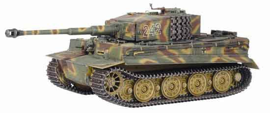 Dragon Models 1/35th Scale Armor Series German WWII Tiger I Tank, Normandy 1944 #61014