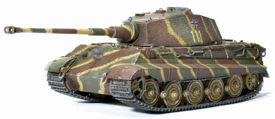 Dragon Models 1/35th Scale Armor Series German WWII King Tiger (Henschel Production) 1/s.Pz.Abt.101, France 1944 #61017