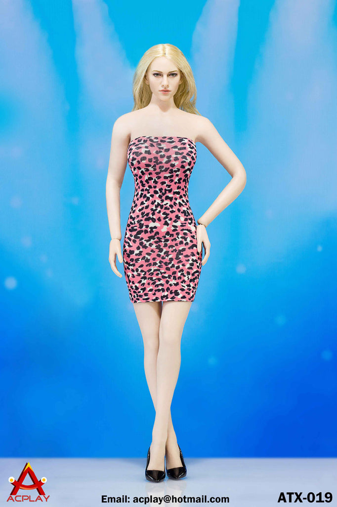AC PLAY 1/6 Sexy Leopard Clothing Accessory Set C Pink Color #AP-ATX019C