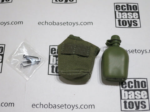 ACE 1/6th Loose M1956 Canteen Pouch & Canteen (OD) #ACL6-P301