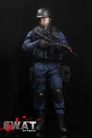 "ART FIGURES 1/6 Action Figure ""SWAT"" Boxed Set #AF-013"