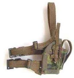 ARMOURY Loose 1/6th Modern British Holster (DPM,Drop Down) #ARL1-A300