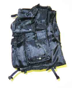 ARMOURY Loose 1/6th Modern Vest (SDU Assault,Black) #ARL1-SB100