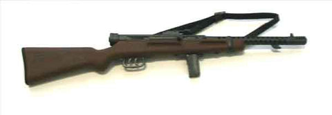 ARMOURY Loose 1/6th Italian Submachinegun (Beretta Model 38/40,Dark Wood) WWII Era #ARL4-W103