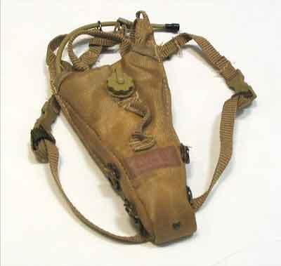BARRACK SERGEANT Loose 1/6th Hydration Pack (Coyote) Modern Era #BSL4-P100