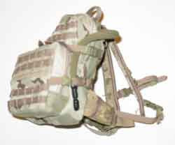 Crazy Dummy Loose 1/6th HAWG Backpack (3 Color Desert) #CDL4-P100