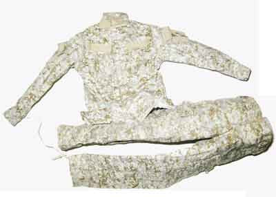 Crazy Dummy Loose 1/6th USMC Uniform (Desert MARPat) #CDL4-U100