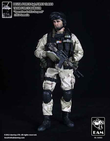 DAM Toys 1/6 Delta Force SGT. First Class (Task Force Ranger) Boxed Set #DAM-93004