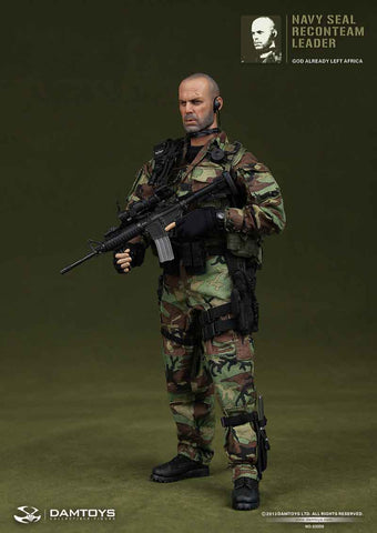DAM Toys 1/6 Navy Seal Recon Team Leader Boxed Set #DAM-93009