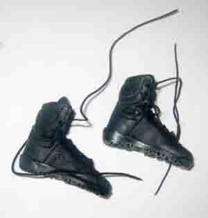 DAM Toys Loose 1/6th Boots (Russian)(Tactical)(Black) #DAM4-B500