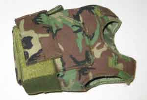 DAM Toys Loose 1/6th Body Armor (Ranger)(Woodland) #DAM4-Y100
