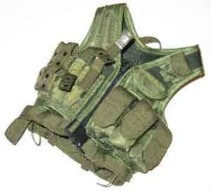 DAM Toys Loose 1/6th Tactical Vest (OD)  #DAM4-Y400