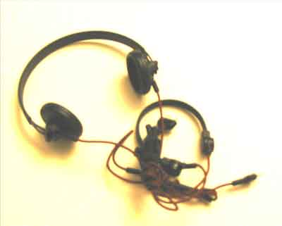 DID Loose 1/6 WWII German Headset & Throat Mic. (Tanker) #DID1-A107
