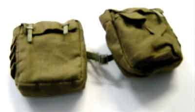 DID Loose 1/6 WWII German Side Pouches (Pioneer,L&R Sides) #DID1-P202