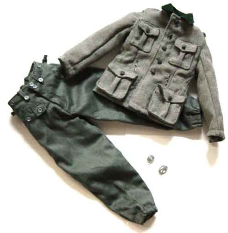 DID Loose 1/6 WWII German M37 Uniform (w/2x Medals) #DID1-U111
