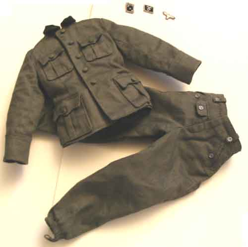 DID Loose 1/6 WWII German M36 Uniform (Prince Eugen) #DID1-U116