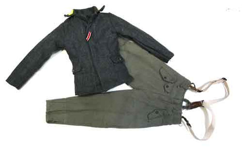DID Loose 1/6 WWII German 2nd Pattern Fliegerbluse w/FJ Trousers #DID1-U122