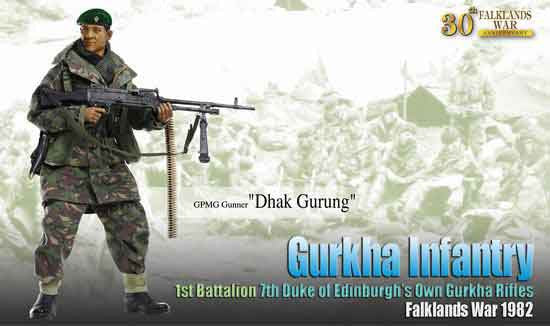 DRAGON MODELS 1/6th Action Figure DHAK GURUNG Box Set #70845